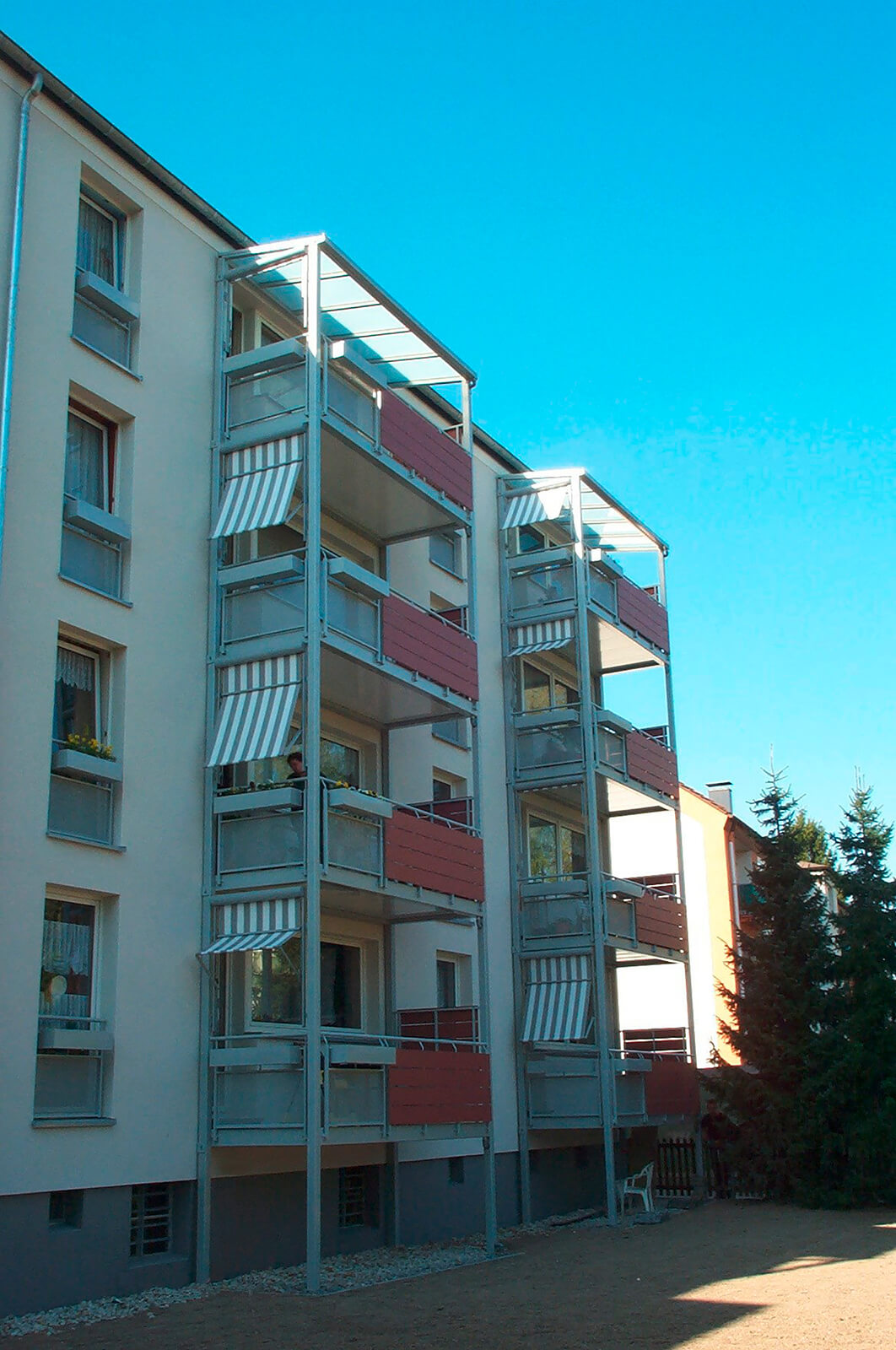 Sonnenschutz Balkonturm Balkondach 1410 Forbis